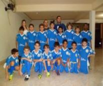 Equipe sub-11 treinos