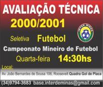 Inter de Minas abre captação de atletas para ...