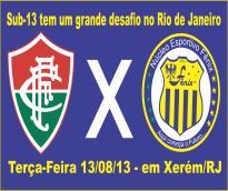 FÊNIX enfrenta Fluminense em Xerém